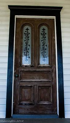 Photograph - Old Door by Shannon Harrington