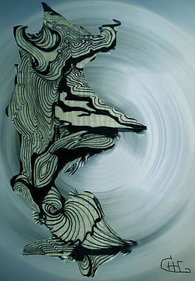 Old Drawing Called Serenity 2   Art Print by Colette V Hera  Guggenheim