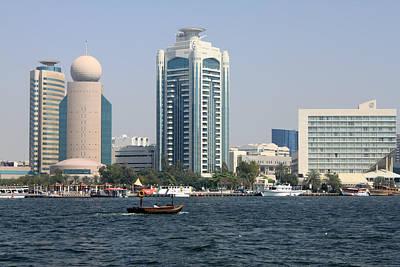 Photograph - Old Dubai by Munir Alawi