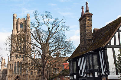Art Print featuring the photograph Old English House by Andrew  Michael