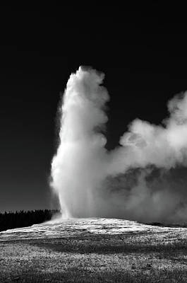 Photograph - Old Faithful  by La Dolce Vita
