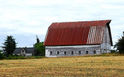 Photograph - Old Farm I by Kathy Sampson