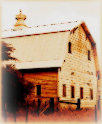 Digital Art - Old Farm by Kathy Sampson