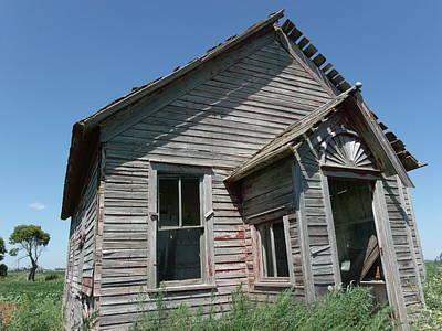 Old Farmhouse In North Dakota Original by Brian  Maloney