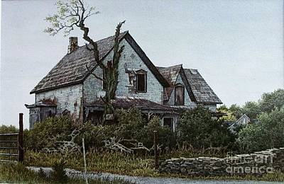 Painting - Old Farmhouse Picton by Robert Hinves