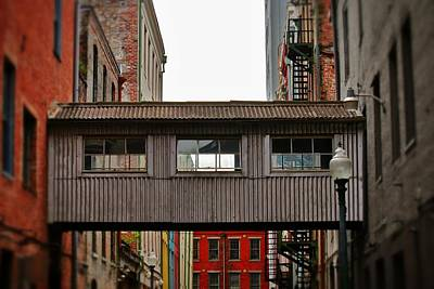 Photograph - Old Fashion Skywalk  by Jim Albritton