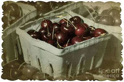 Photograph - Old Fashioned Cherries by Jim And Emily Bush