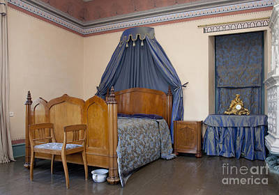 Old-fashioned Manor Bedroom Art Print by Jaak Nilson