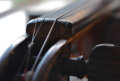 Photograph - Old Fiddle 2 by Bill Owen