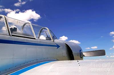 Old Fighter Plane. Art Print