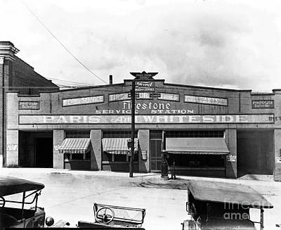 Photograph - Old Firestone Store Circa 1930 by Cris Hayes