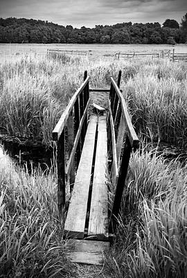 Photograph - Old Footbridge by Ian Merton