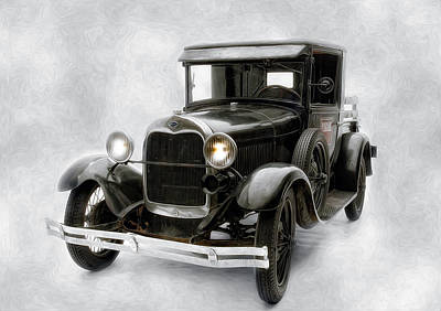 Photograph - Old Ford by Gary Rose