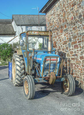 Travel Rights Managed Images - Old Ford Traction Royalty-Free Image by Rob Hawkins