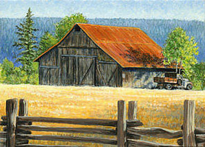 Painting - Old Ford by Shari Erickson