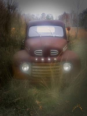 Photograph - Old Ford by Williams-Cairns Photography LLC
