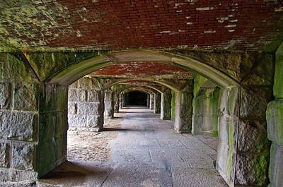 Photograph - Old Fort Popham 0173 by Guy Whiteley