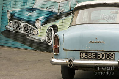 Car Names Photograph - Old French Car by Igor Kislev