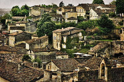 Photograph - Old French Village D0686 by Wes and Dotty Weber