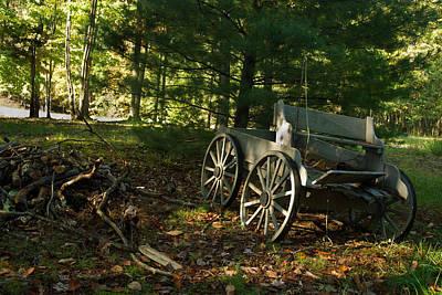 Photograph - Old Frontier Wagon 1 by Douglas Barnett