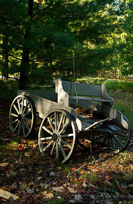 Photograph - Old Frontier Wagon 2 by Douglas Barnett