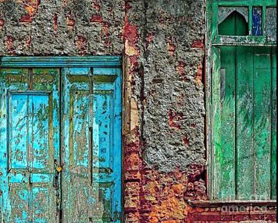 Photograph - Old Ghetto Building Venice Italy by Merton Allen