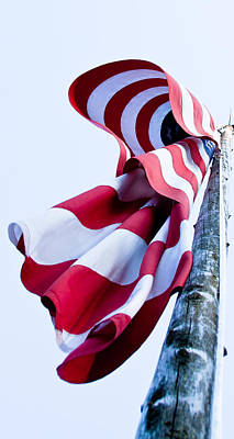 Old Glory Photograph - Old Glory by David Patterson