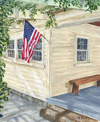 Painting - Old Glory by Margie Perry
