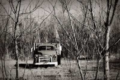 Photograph - Old Gmc by Lora Mercado