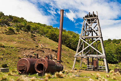 Poppet Photograph - Old Gold Mine by Graeme Knox