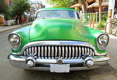 Kitchen Mark Rogan - Old Green Buick by Valentino Visentini