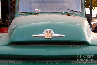 Photograph - Old Green International Harvester Farm Truck . 7d10315 by Wingsdomain Art and Photography