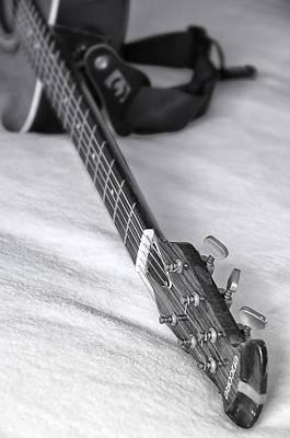 Free Jazz Photograph - Old Guitar by Svetlana Sewell