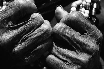 Old Hands 2 Print by Skip Nall