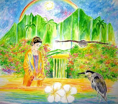 Liberation Painting - Old Hawaii by Tamara Tavernier