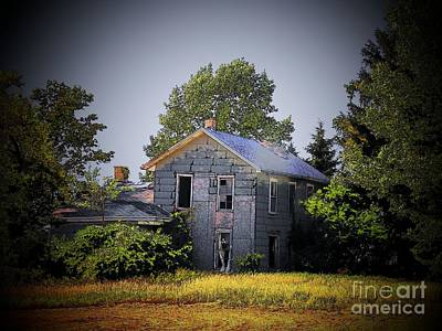 Old Home In Indiana Art Print by Joyce Kimble Smith