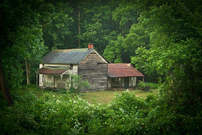 Old Home Place Art Print by Douglas Barnett