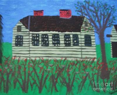 Old Homestead Art Print