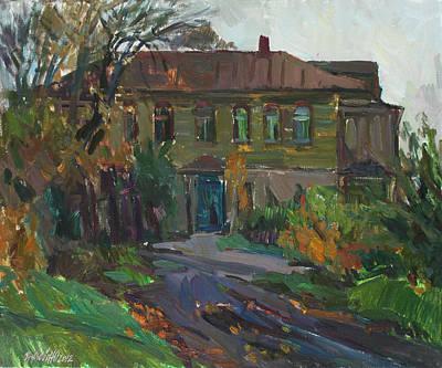 Old House Art Print by Juliya Zhukova