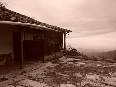 Photograph - Old House by Koral Garcia