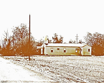 Photograph - Old Hwy 61 Church by Lizi Beard-Ward