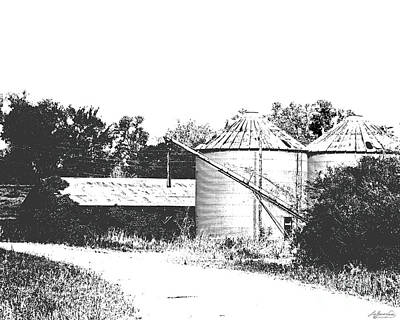 Photograph - Old Hwy 61 Levee Farm by Lizi Beard-Ward