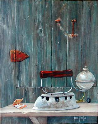 Painting - Old Iron At Bchm by Gary Partin