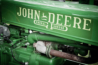 Old John Deere Original by Adam Pender