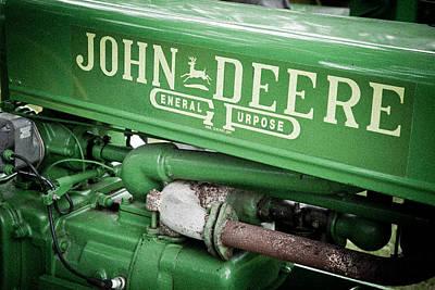 Photograph - Old John Deere by Adam Pender