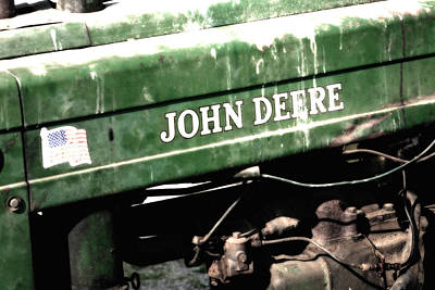 Photograph - Old John Deere by John Kiss