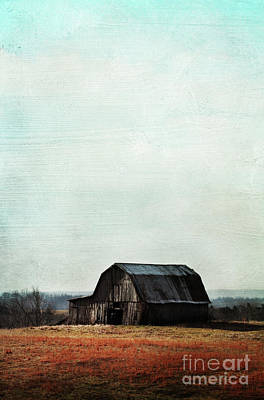 Old Kentucky Tobacco Barn Art Print