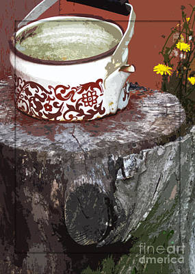 Old Kettle Art Print by Deborah Johnson
