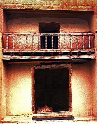 Photograph - Old Las Trampos Mission Ruins Arizona by Merton Allen