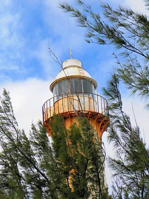 Grand Turk Island Photograph - Old Lighthouse Grand Turk Island by Rosalie Scanlon